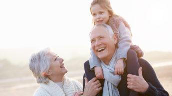 Retirees enjoying financial independence